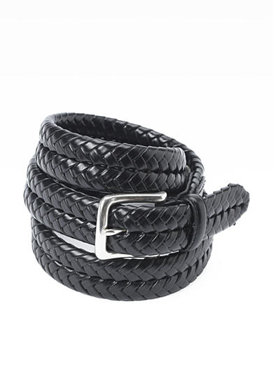 Fossil® Maddox Leather Braided Belt