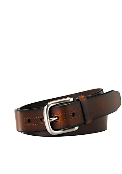 Fossil® Hanover Leather Casual Belt