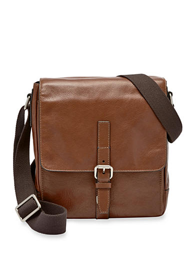 Fossil® Davis Leather Small Messenger Bag