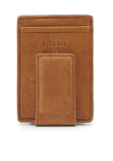 Fossil® Ingram Leather Magnetic Card Case Wallet