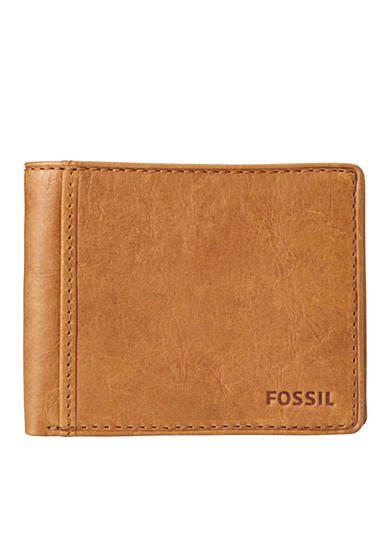 Fossil® Ingram Leather Bifold With Flip ID Wallet