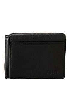 Fossil® Ingram Leather Flip Trifold Wallet