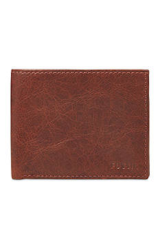 Fossil® Ingram Leather L-Zip Bifold Wallet