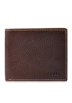 Fossil® Lincoln Leather Bifold Wallet