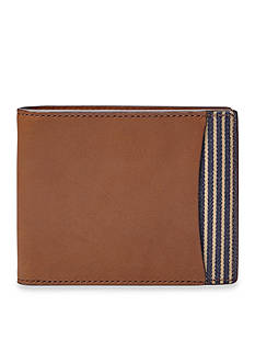Fossil® Knox Leather Bifold With Flip ID Wallet