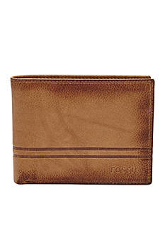 Fossil Watts Flip ID Leather Bifold Wallet