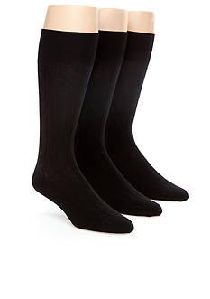 Calvin Klein Dress Rib Socks 3-Pack