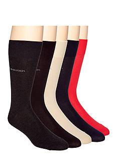 Calvin Klein Giza Cotton Dress Socks - Single Pair