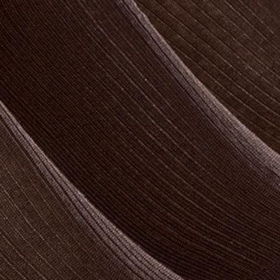 Black Designer Socks for Men: Brown Calvin Klein Non-Elastic Dress Sock 3-Pack