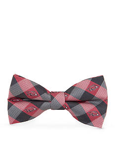 Eagles Wings Arkansas Razorbacks Check Pre-tied Bow Tie
