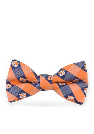 Eagles Wings Auburn Tigers Check Pre-tied Bow Tie