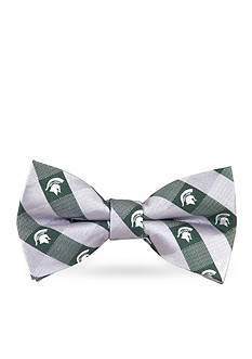 Eagles Wings MSU Spartans Check Pre-tied Bow Tie