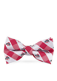 Eagles Wings Ohio State Buckeyes Check Pre-tied Bow Tie