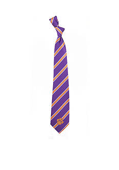 Eagles Wings Clemson Tigers Stripe Tie