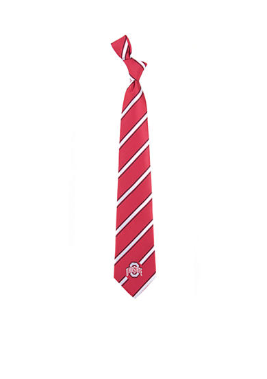 Eagles Wings Ohio State Buckeyes Woven Poly 1 Tie