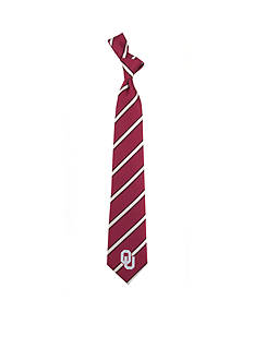 Eagles Wings Oklahoma Sooners Woven Poly 1 Tie