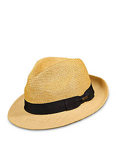 Scala™ Paper Braid Fedora Hat