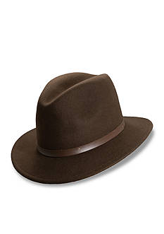 Scala™ Safari Hat with Leather Band