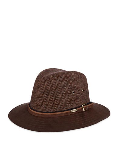 Stetson® Herringbone Safari Hat