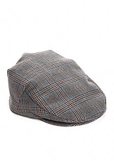 Stetson Polo Plaid Driving Cap