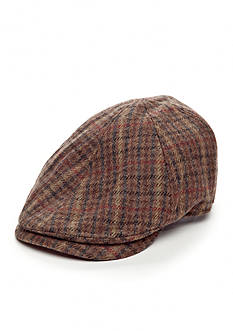Scala™ Longshoreman Plaid Ivy Cap