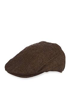 Stetson Wool Blend Herringbone Driving Cap