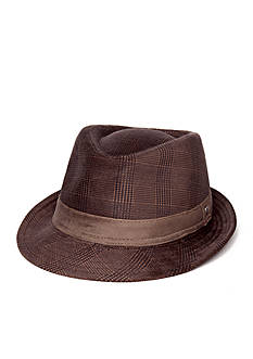 Scala™ Cut Corduroy Plaid Club Fedora