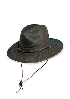 Stetson Safari Big Brim Hat with Leather Band