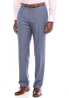 Madison Modern-Fit Blue Chambray Pant