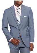 Madison Modern-Fit Blue Chambray Sport Coat