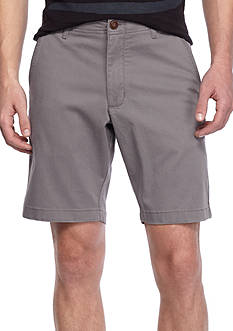 Red Camel® 9-in Flat Front Stretch Shorts