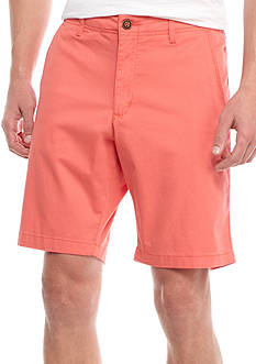 Red Camel® 9-in. Stretch Flat Front Shorts