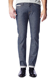 7 For All Mankind Straight Light Stretch Selvedge Jeans
