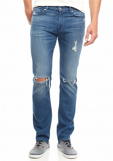 7 For All Mankind® Slimmy Slim Straight Leg Jeans