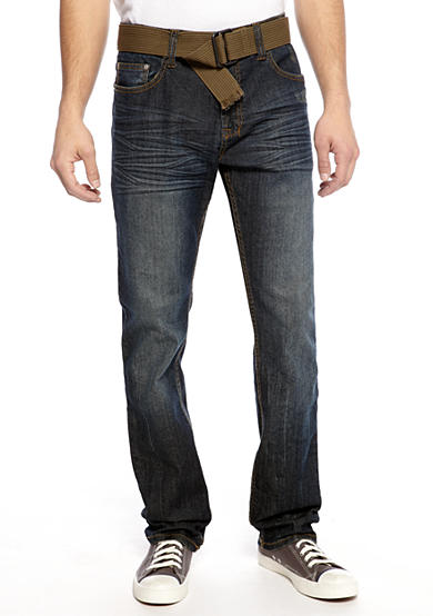 Red Camel® Slim Straight Leg Jeans