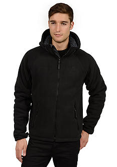 Weather Wear Fleece Bonded W/Hood Jacket