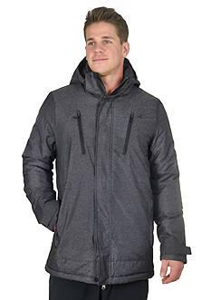 Champion Herringbone Textured Synthetic Down Jacket