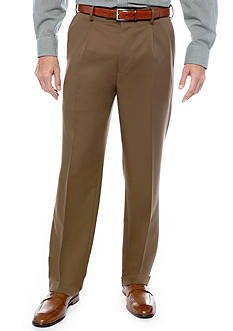 Saddlebred® Straight-Fit Pleated Wrinkle-Resistant Dress Pants