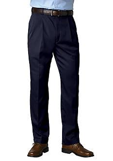 Saddlebred® Straight-Fit Pleated Wrinkle-Resistant Dress Pants