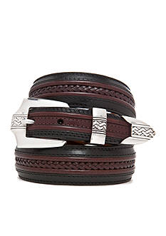 Brighton® Leather Pinon Hills Inlay Lace Belt