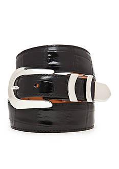 Brighton Catera Leather Taper Belt