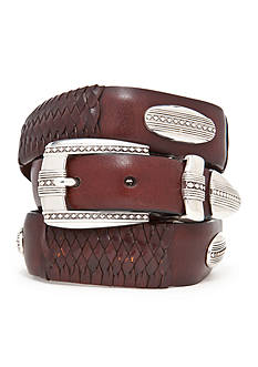 Brighton® Eastwood Leather Ornament Taper Belt