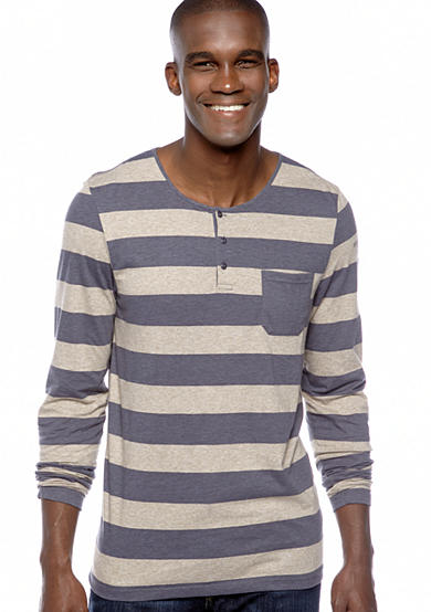 BUFFALO DAVID BITTON® Niven Stripe Knit Henley