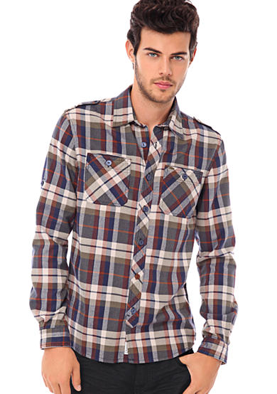 BUFFALO DAVID BITTON Savil Flannel Shirt