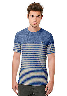 BUFFALO DAVID BITTON Nidro Short Sleeve Chest Block Stripe T-Shirt