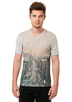 BUFFALO DAVID BITTON Niron Short Sleeve Photo Skyscape Graphic Tee
