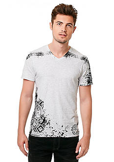 BUFFALO DAVID BITTON Naouni Short Sleeve V-Neckline Graphic Tee