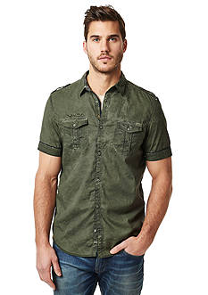 BUFFALO DAVID BITTON Safic Short Sleeve Woven Shirt