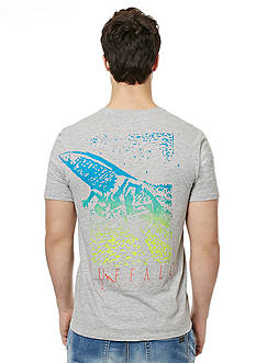 BUFFALO DAVID BITTON Naled Crew Back Print Graphic Tee