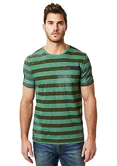 BUFFALO DAVID BITTON® Narule Crew Neck Stripe Tee